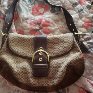 Coach hobo barely used
